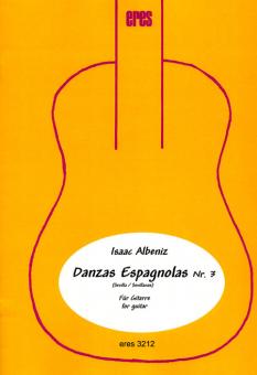 Danzas Espagnola Nr. 3 (zwei Gitarren-Download)
