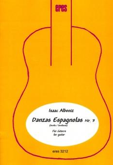 Danzas Espagnola Nr. 3 (zwei Gitarren)