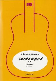 Capricho Espagnol (zwei Gitarren)