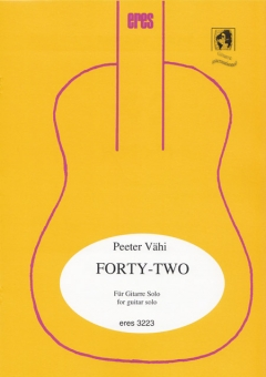 Forty-Two (Gitarre solo-Download)