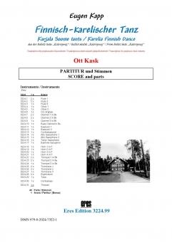Karelia Finnish Dance (symph. wind orchestra)
