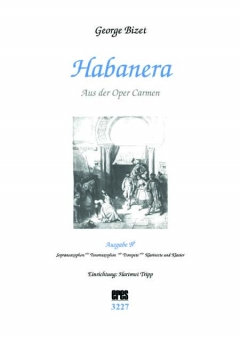 Habanera (Ausgabe in Bb-DOWNLOAD)