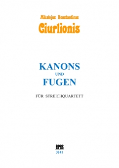Canons and fugues (stringquartet)