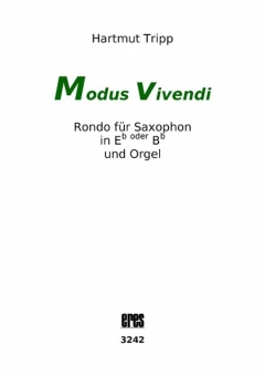 Modus vivendi (saxophon and organ)