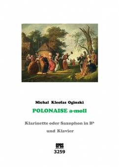 Polonaise a-minor clarinet, o. saxophone and piano)