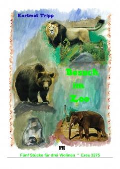 Besuch im Zoo (3 Violinen)
