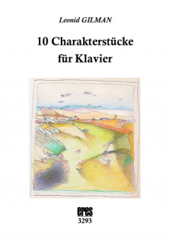 10 charakter pieces for piano