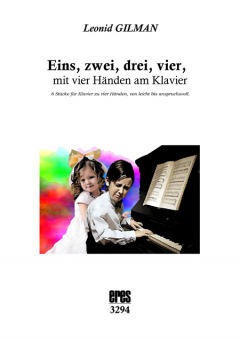 Eins, zwei, drei, vier, mit vier Händen am Klavier (4ms)