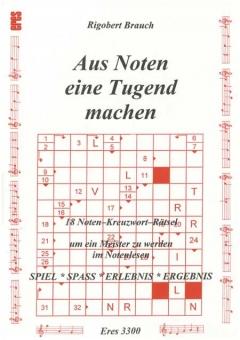 Noten-Kreuzwort-Rätsel 1