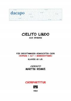 Cielito Lindo (gemischter Chor 3st)