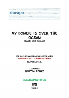 My Bonnie is over the ocean (Klavier)