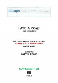 Late a come (Klavier)
