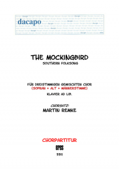 The Mockingbird (gemischter Chor 3st)