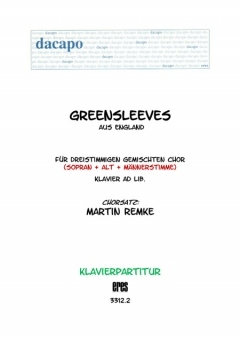 Greensleeves (Klavier)