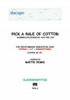 Pick a Bale Of Cotton (Klavier)