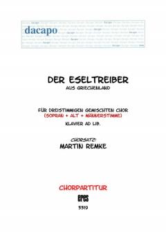 Der Eseltreiber (gemischter Chor 3st)