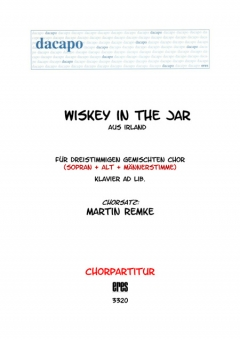Whiskey In The Jar (gemischter Chor 3st)