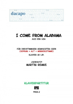 I come from Alabama (Klavier)