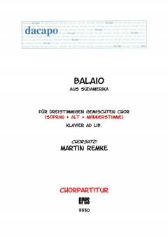 Balaio (gemischter Chor 3st)