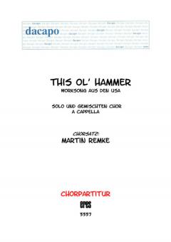 This ol´hammer (gemischter Chor 3st)