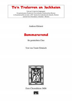 Sommeravend (gemischter Chor)