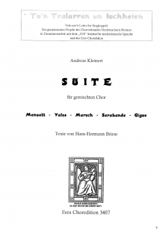 Suite (gemischter Chor)