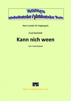 Kann nich ween (Frauenchor 3st)