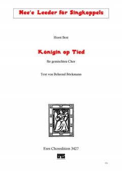 Königin op Tied (gemischter Chor-Klavierpartitur)