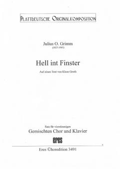 Hell int Finster (gemischter Chor)