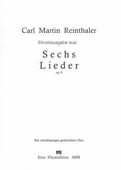 Unter des Grünlaub Dach (gemischter Chor)