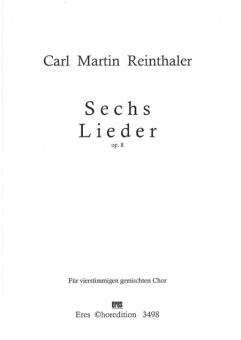 Sechs Lieder (op. 8)