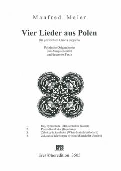 Vier Lieder aus Polen (gemischter Chor)