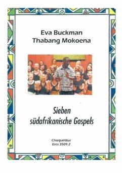 Sieben südafrikanische Gospels SATB (Chorpartitur)