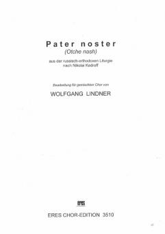 Pater noster (gemischter Chor)