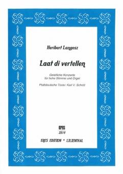 Laat di vertellen (vocal and organ)