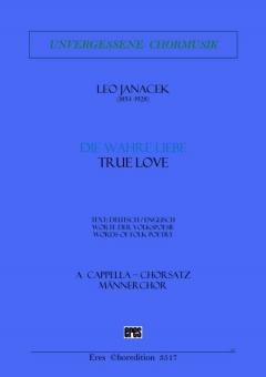 Die wahre Liebe (Männerchor)