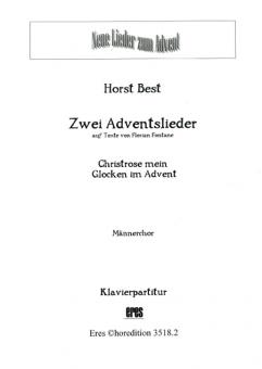 Zwei Adventslieder (Männerchor / Klavier)