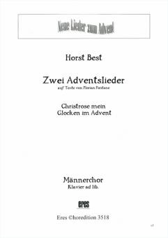 Zwei Adventslieder (Männerchor)