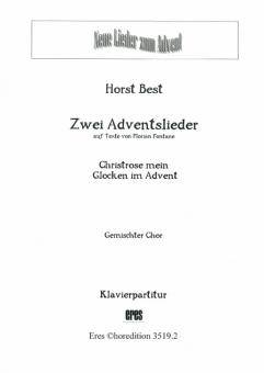 Zwei Adventslieder (gemischter Chor / Klavier)