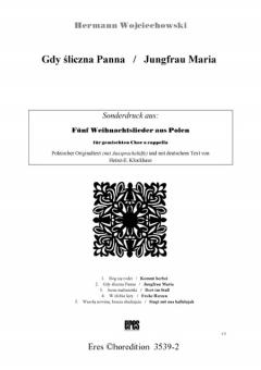 Jungfrau Maria (gemischter Chor)