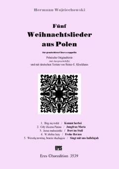 Fünf Weihnachtslieder aus Polen (gemischter Chor)