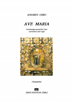 Ave Maria (mixed choir and piano) / choir parts)