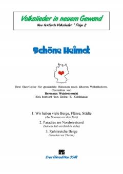Schöne Heimat 2 (gemischter Chor)