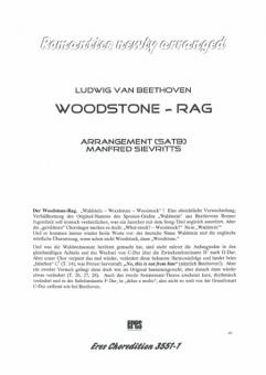 Woodstone-Rag (gemischter Chor)