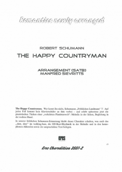 The Happy Countryman (gemischter Chor)