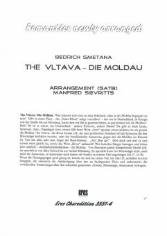 The Vltava-Die Moldau (gemischter Chor)