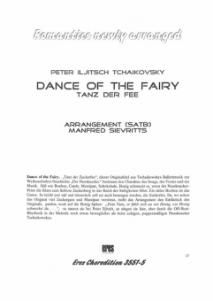 Dance of the Fairy (gemischter Chor)