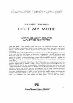 Light my Motif (gemischter Chor)