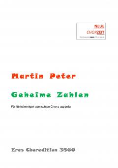 Geheime Zahlen (gemischter Chor 5st)