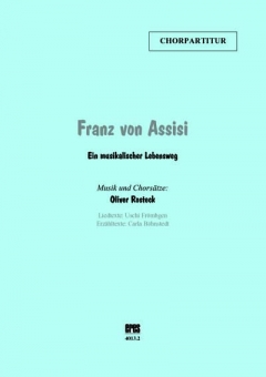 Franz von Assisi (Chorpartitur)